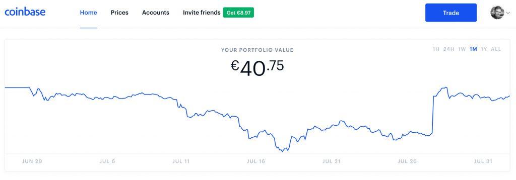 Coinbase Account @ Savings4Freedom
