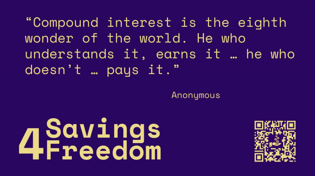 Savings4Freedom Quote Anonymous